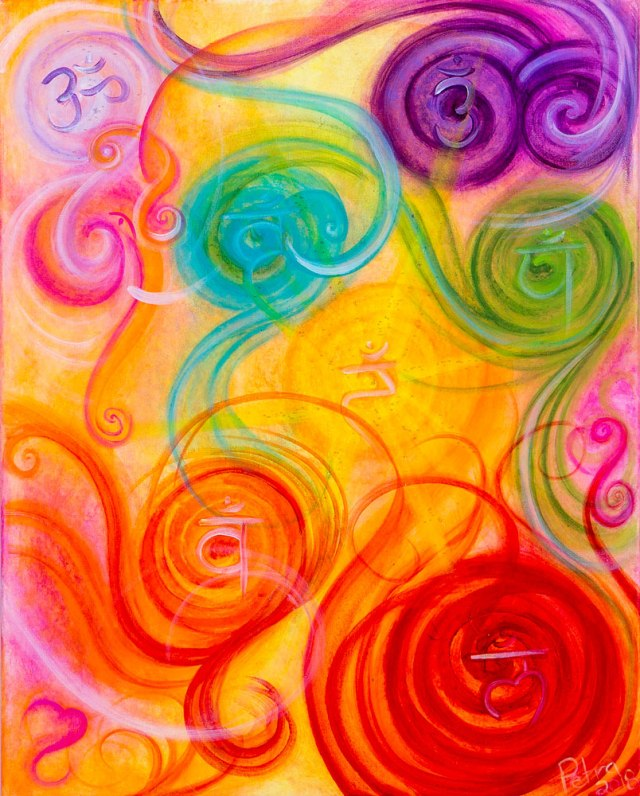 Chakra Energy Mixed Media