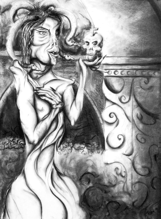 Self Portrait as Medusa