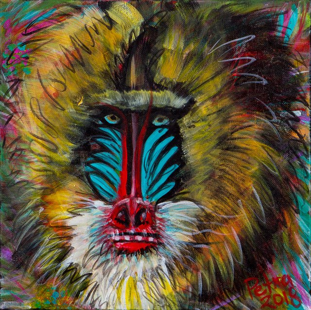 Shaman Acrylic on Canvas